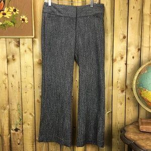 Express Editor B&W Herringbone Trousers